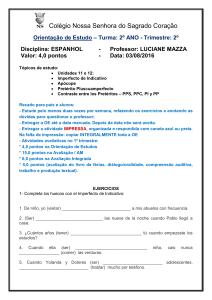 26cfa0c2b ROTEIRO DE RECUPERAÇÃO DE ESPANHOL Nome  7º