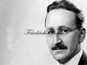 The Use of Knowledge in Society (Friedrich Hayek)
