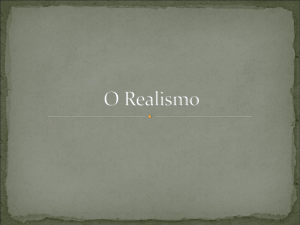 O Realismo - WordPress.com