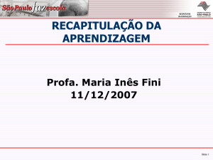 Slide 1 - Rede do Saber