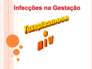 AAAHIV 4 + Toxoplasmose 2012 INT