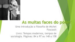 As muitas faces do poder