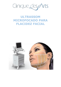 ULTRASSOM MICROFOCADO PARA FLACIDEZ FACIAL