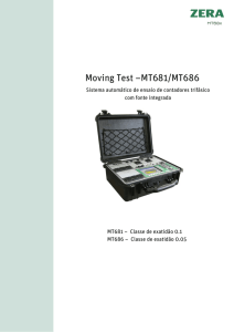 Moving Test –MT681/MT686