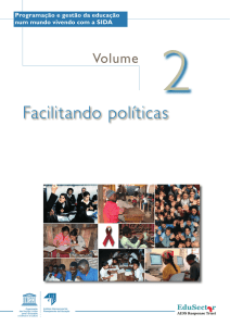 Facilitando políticas - UNESCO HIV and Health Education