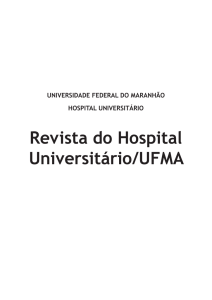 Revista do Hospital Universitário/UFMA