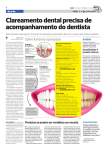 Materia clareamento dental