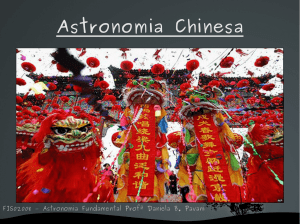 Astronomia Chinesa - if