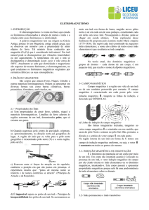 Page 1 ELETROMAGNETISMO 1