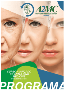Programa do Curso - A2MC AntiAnging Medicine Center | Dr