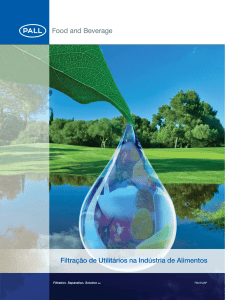 Utilities Filtration in the Food Industry (Brazilian
