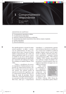 Comportamento respondente (PDF Available)