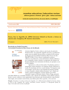 resenhas educativas //education review