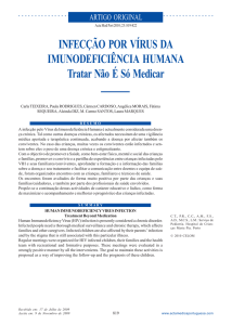 Human immunodeficiency virus infection