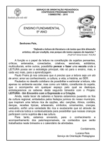 ENSINO FUNDAMENTAL 5º ANO