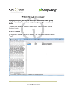 Windows Live Windows Live Messenger