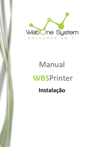 WBSPrint - Web One System