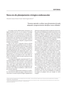 Nova era do planejamento cirúrgico endovascular