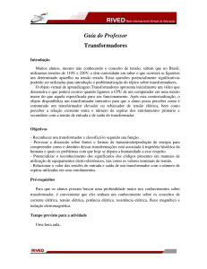 Guia do Professor Transformadores