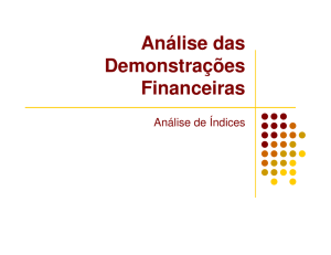 Analise Demonstracoes Financeiras