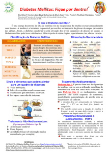 Diabetes Mellitus - Universidade Federal do Piauí