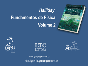 Halliday Fundamentos de Física Volume 2