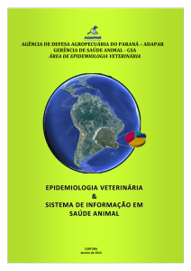 Manual da Epidemiologia Veterinária - Adapar