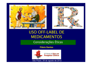 uso off-label de medicamentos