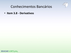 Item 3.8 - Derivativos