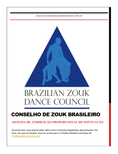 1 - Brazilian Zouk Dance Council