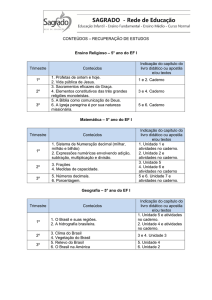 Ensino Fundamental – 5º ano