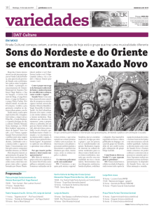 Sons do Nordeste e do Oriente se encontram no Xaxado Novo