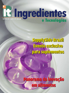 SupplySide Brazil Evento exclusivo para suplementos SupplySide