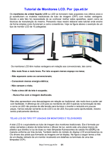 Tutorial de Monitores LCD. Por