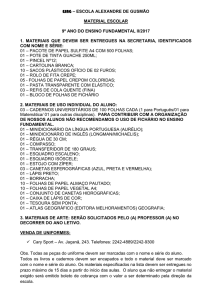 9º ano do ensino fundamental ii