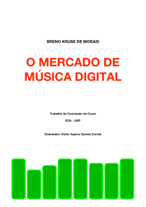 O MERCADO DE MÚSICA DIGITAL - Stoa