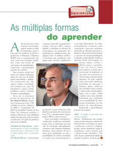 As múltiplas formas do aprender