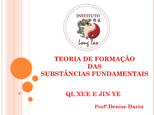 Zong Qi - Instituto Long Tao