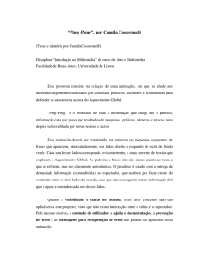 Test report  - Universidade de Lisboa