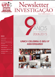Newsletter nº 13