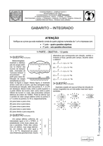 1 gabarito – integrado