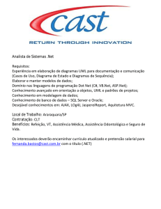 Analista de Sistemas .Net Requisitos