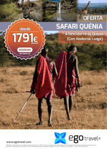 safari quénia