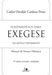 PARTE 1 SINTAXE DO SuBSTANTIVO
