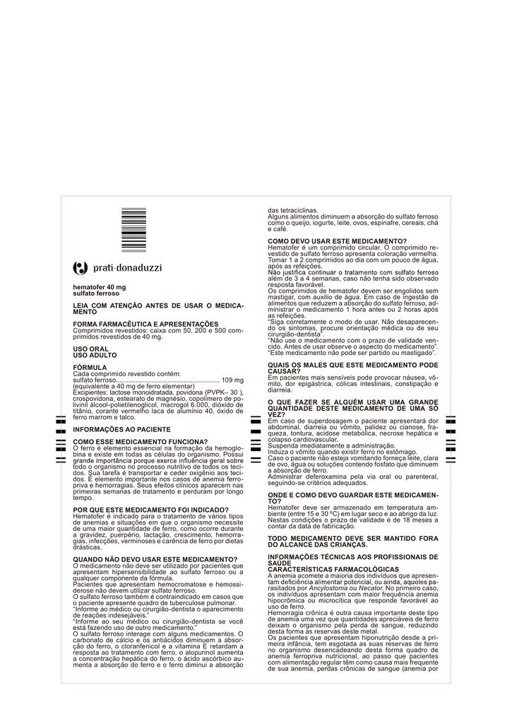 sulfato ferroso 200 mg