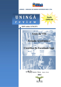 Revista UNINGÁ Review