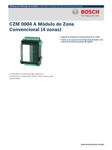 CZM 0004 A - Bosch Security Systems