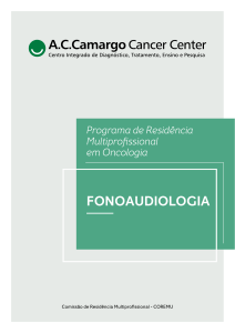 Programa de Residência - A.C.Camargo Cancer Center