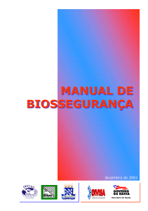 Manual de Biossegurança, 2001