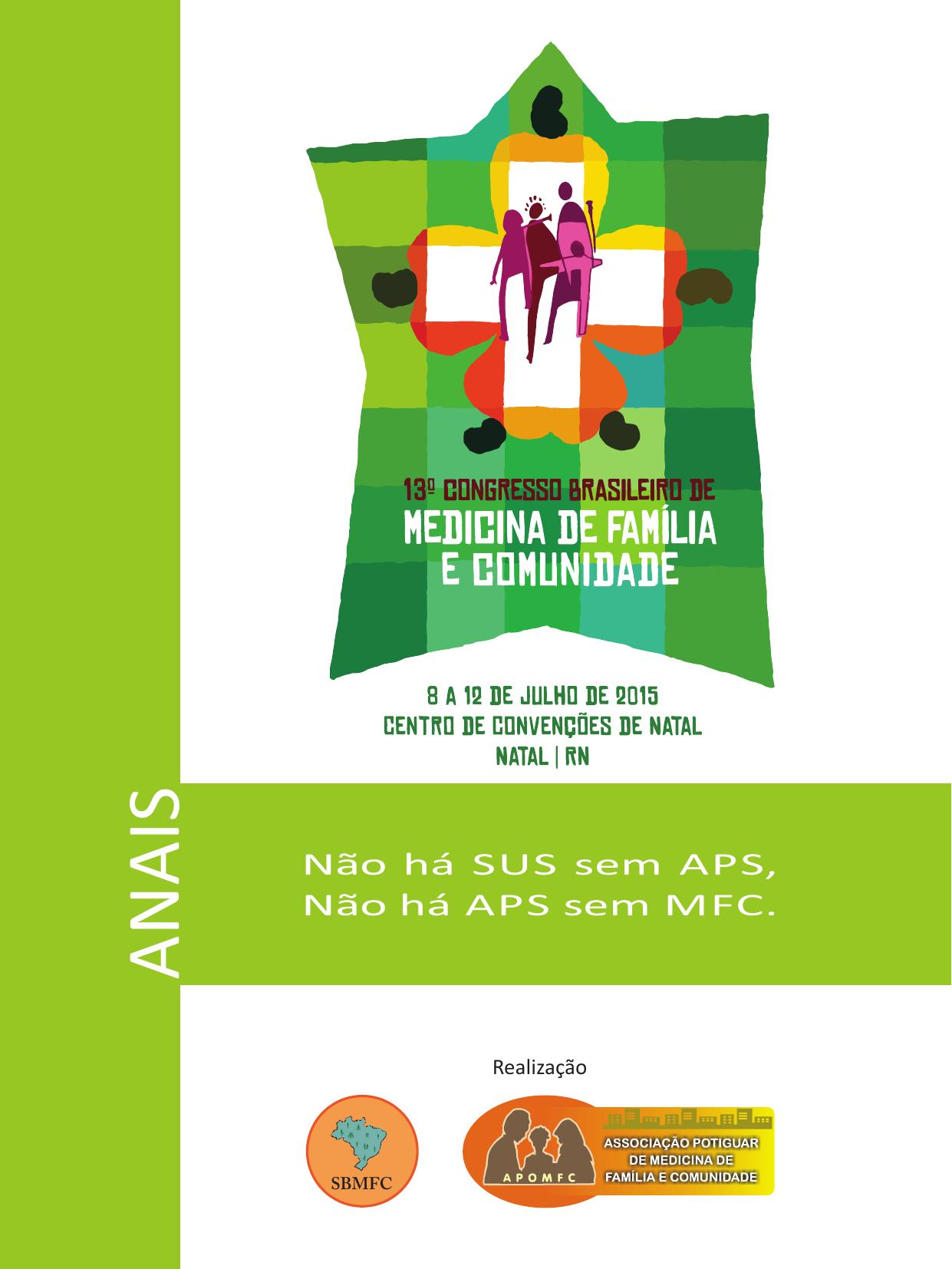 14a4e946ac0 pôsteres - 13º Congresso Brasileiro de Medicina de Família e